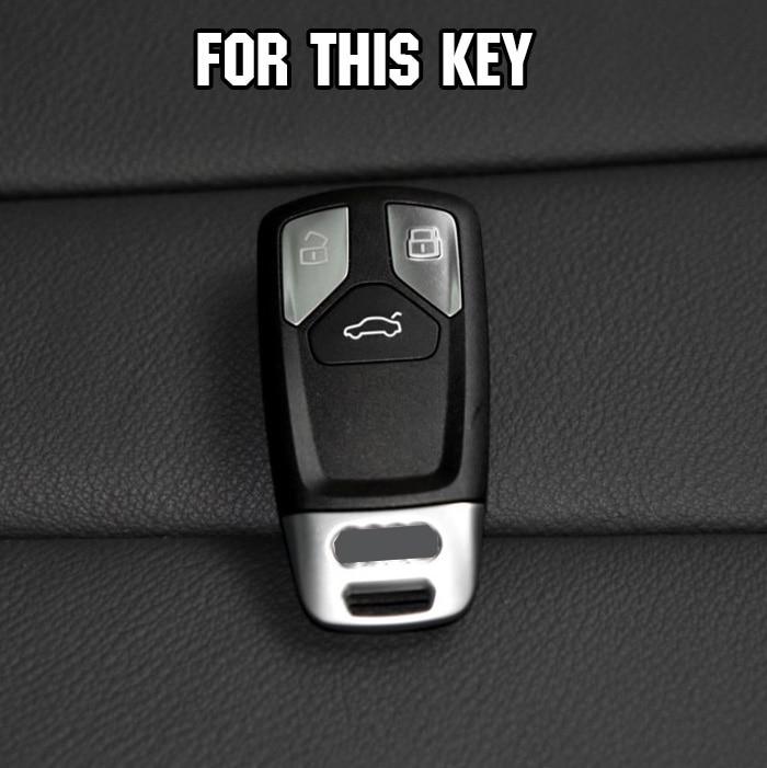 Schlüssel Fall Abdeckung für Audi A4 Allroad B9 Q5 Q7 TT 2017 2018 Fob