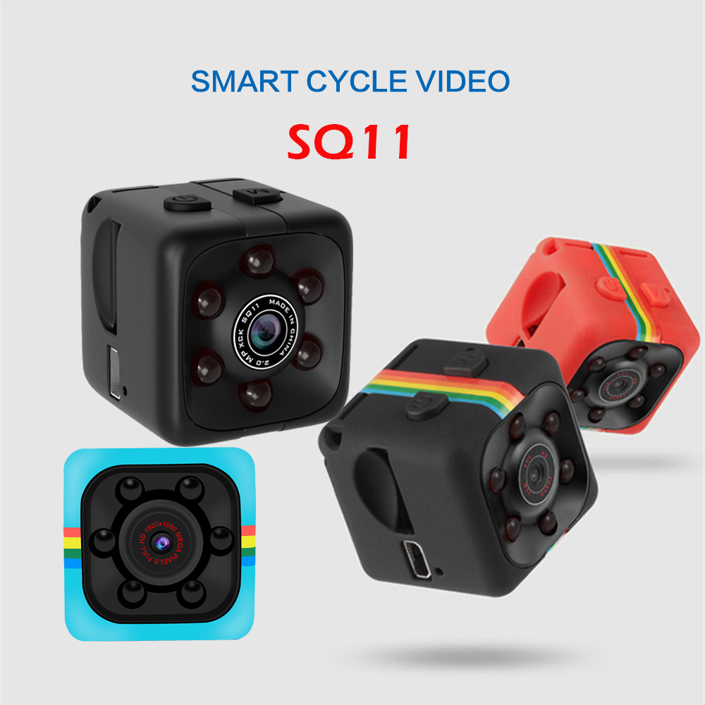 3 Color Mini Camera 1080p Home Security Camcorder Outdoor