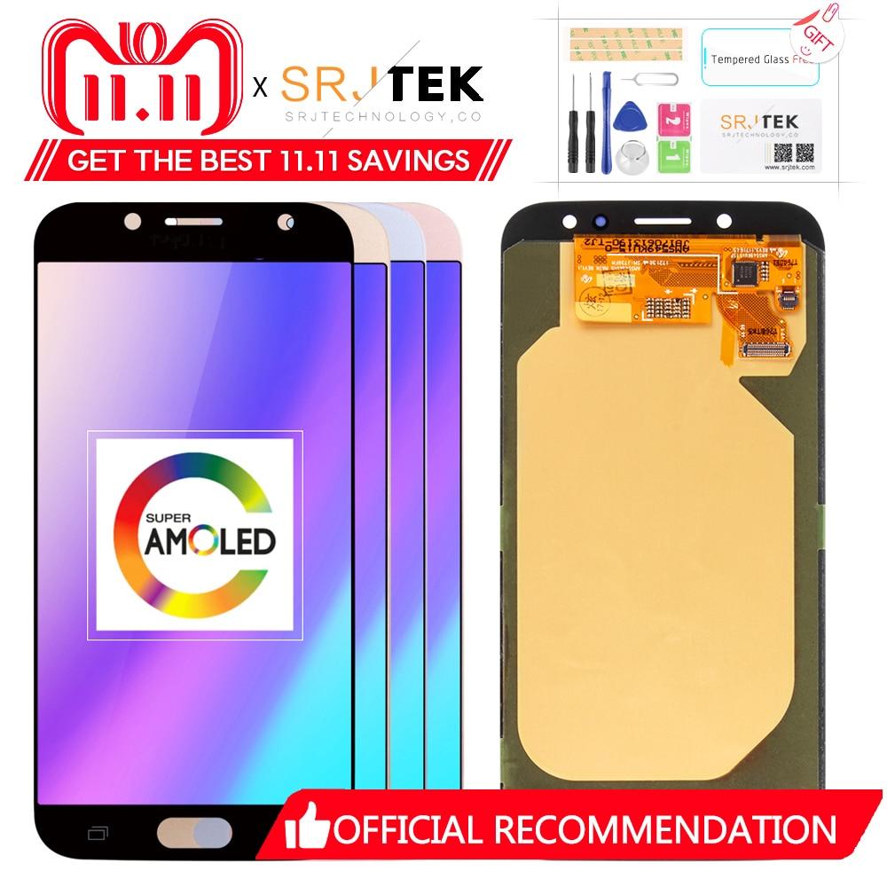 100% первоначально для samsung Galaxy J7 Pro 2017 J730 J730F J730M J730H ЖК-дисплей Дисплей Сенсорный экран планшета Ассамблеи Super AMOLED
