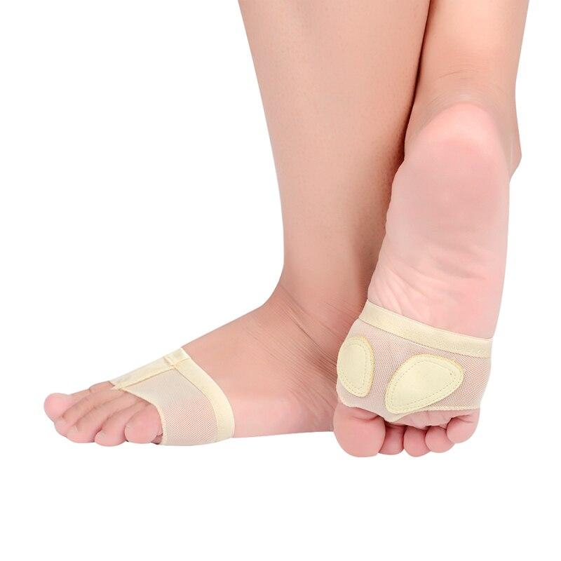 2 PAIRS Ballet Toe Undies Pads Foot thong Protection Lyrical Dance Socks Paws