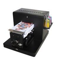 Clothes Printer A4 Flatbed Printer DTG Printing Machine Tshirt Printer Flatbed Printer for TShirt Print on Dark Light Colors