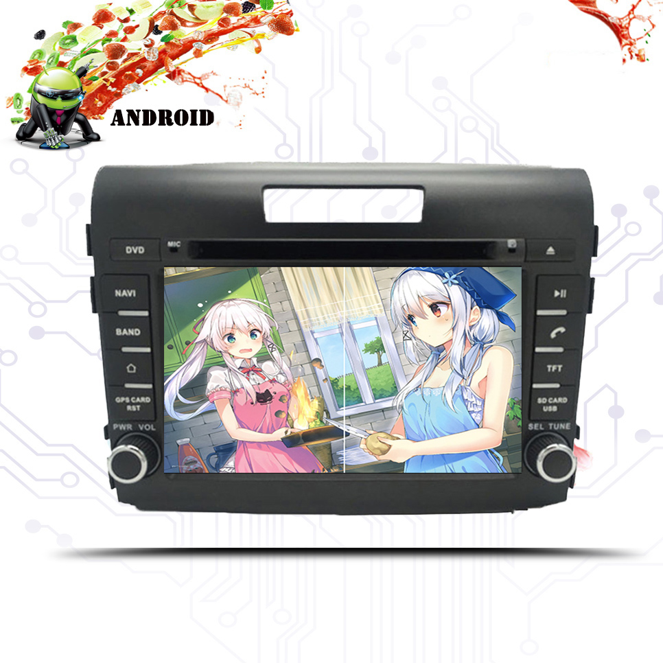 Android 9.0 Car DVD Player GPS Navigation Multimedia For Honda CRV 2012 2013 2014-2018 Navi RDS Radio Audio Video Stereo System