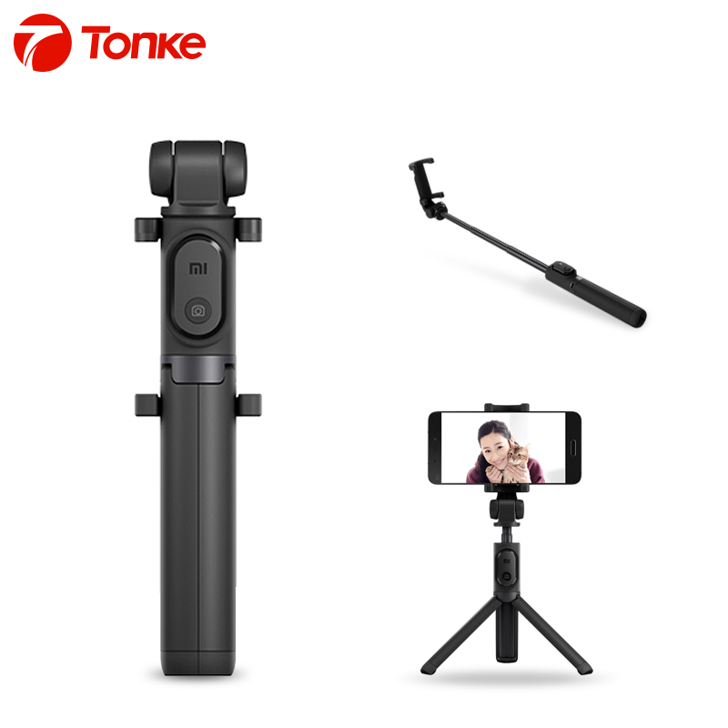 original xiaomi foldable tripod selfie stick bluetooth selfiestick with wireless shutter selfie. Black Bedroom Furniture Sets. Home Design Ideas