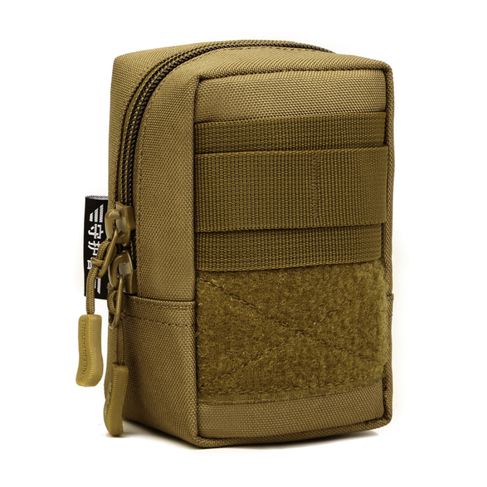 Men Durable Nylon Fanny Waist Pack Belt Bags Mini Bum Pouch Military Male Assault Molle Cell/Mobile Phone Small Square Bag