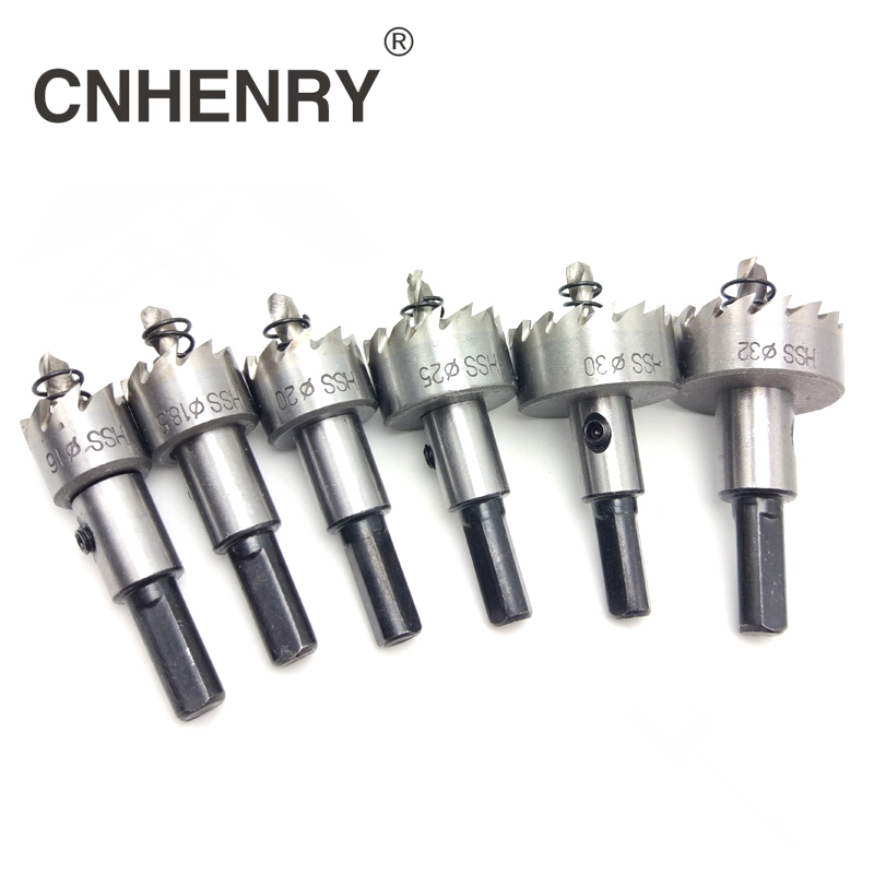 12/20/21/25/26/30/35mmHSS Drill Bit Hole Saw Cutter Set Cuttting Stainless Steel Metal For Power Tools High-speed Steel Metal