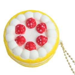 Новый клубничный торт мягкими игрушками замедлить рост мягкий мешочек ремешок орнамент