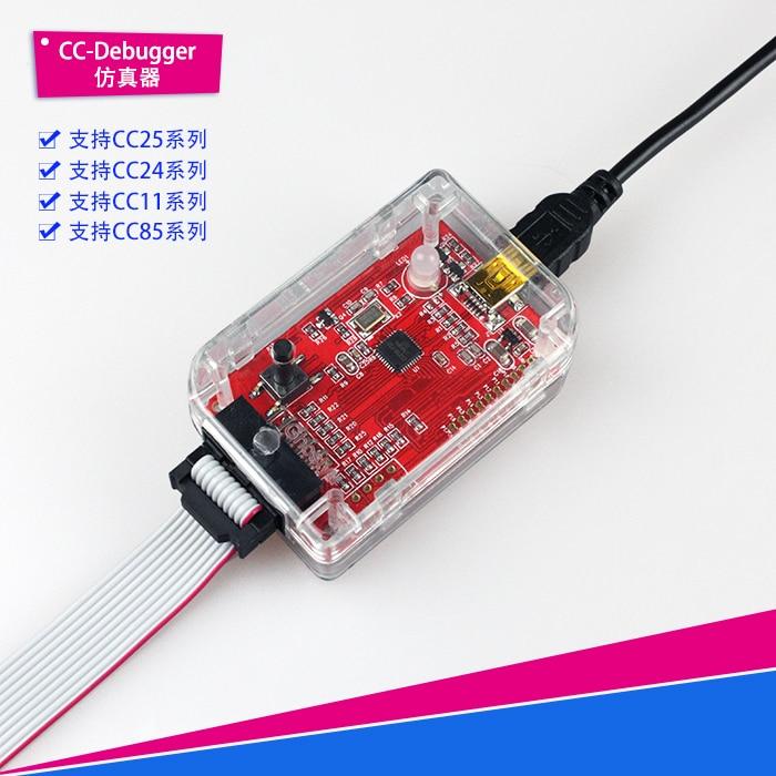 цена на CC-Debugger Debugger Downloader, Ble Bluetooth ZigBee Emulator, Super Smartrf04eb