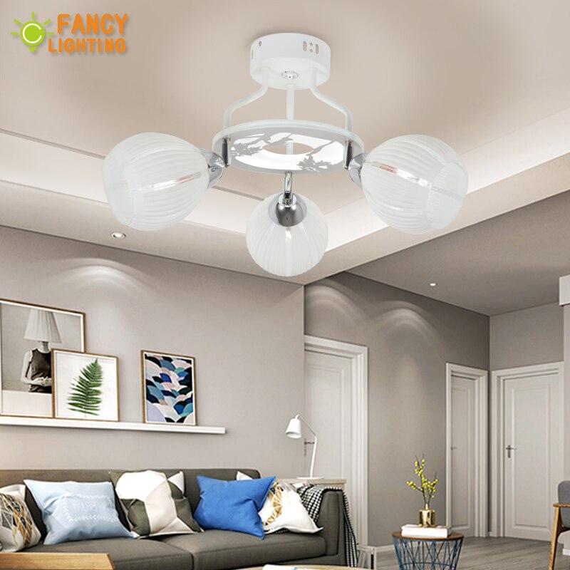 Современные светодиодные люстры с любителей акрил свет Панель теплые/Природа/холодный белый свет люстры для спальни/гостиная /home decor