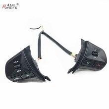 PUFEITE многофункциональные кнопки применяются для KIA K2 RIO автомобильный переключатель рулевого колеса режим громкости телефонные переключатели автомобильный Стайлинг
