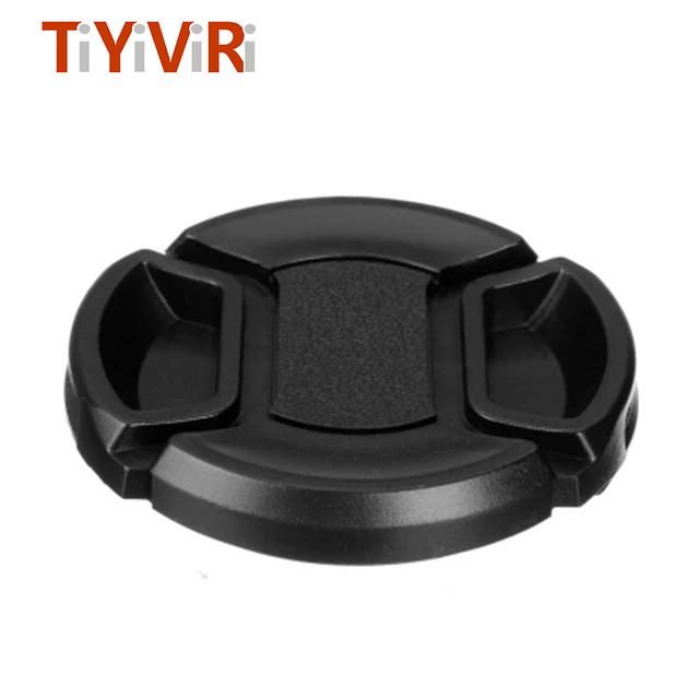 TiYiViRi Lens Cap 49 52 55 58 62 67 72 77 82mm Universal Camera Lens Cap Holder Protection Cover For Canon Nikon Sony Olypums