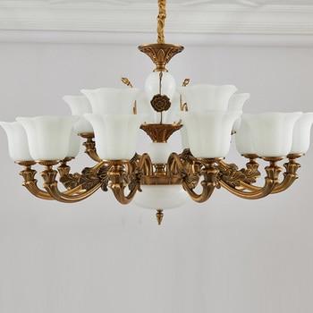 Moderne Minimalistische Kroonluchter Licht Luxe Eetkamer Gouden Kroonluchter Nodic Country Metalen Slaapkamer Gang Licht