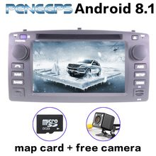 Octa Core Android 8.1 Car Radio for Toyota Corolla 2001-2006 GPS Navigation CD DVD Player 2 Din Radio IPS Screen 1080P Video FM(China)