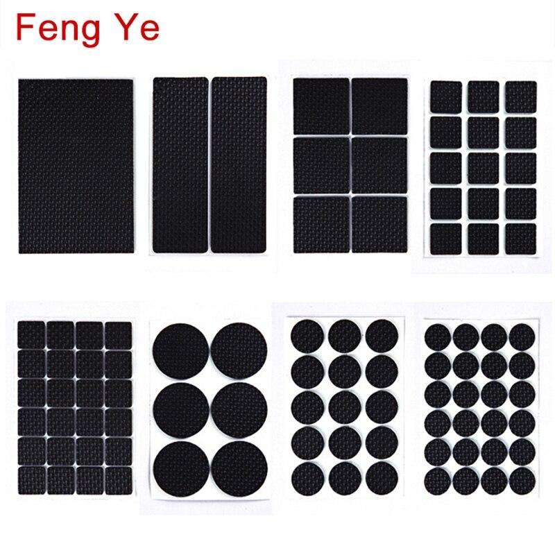 feng-ye-1-24-pcs-auto-adesivo-anti-slip-pad-in-gomma-piedi-per-mobili-gamba-della-sedia-feltro-anti-vibrazione-buffer-pavimento-in-legno-protezioni