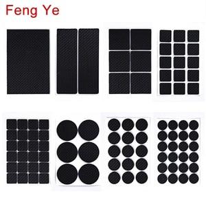 Feng Ye 1-24PCS Self Adhesive Anti Slip Pad Rubber Furniture Feet Leg Chair Felt Anti Vibration Buffer wooden floor Protectors