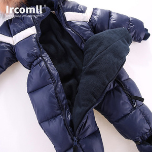 Image 4 - ใหม่รัสเซียฤดูหนาวเด็กทารกเด็กทารกRomper Thickenเด็กSnowsuit Windproof Warm Jumpsuitสำหรับเสื้อผ้าเด็กชุดเด็กวัยหัดเดิน