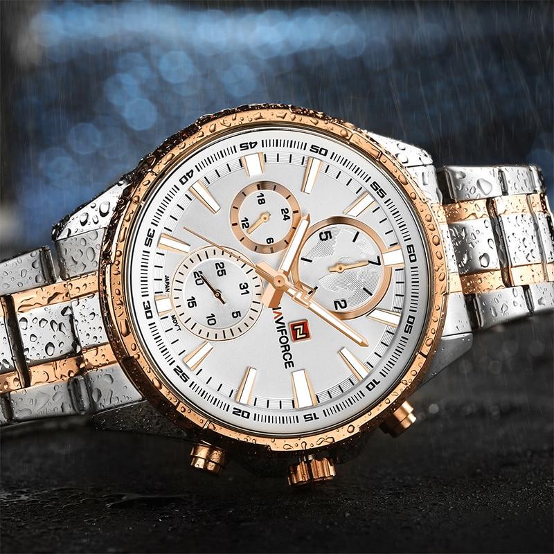 NAVIFORCE Moda Relojes Casuales Hot Brand Hombres Deportes Reloj - Relojes para hombres - foto 5