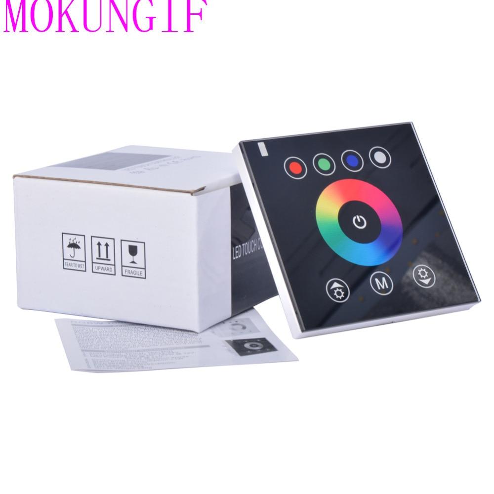 20pcs Lot 50cm Dc12v Dimmable Touch Sensor Light Led Strip: Fast Shipping 20pcs RGBW LED Touch Panel Controller Led
