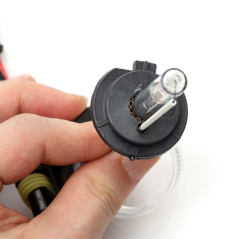 Satu set H7 xenon HID kit 55 W untuk lampu mobil lampu H4 H8 H9 H11 - Lampu mobil - Foto 2