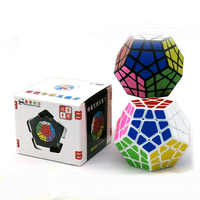 Shengshou 65mm Plastic Puzzle Game Megaminx Speed Magic Cube Educational Toys For Children Kids