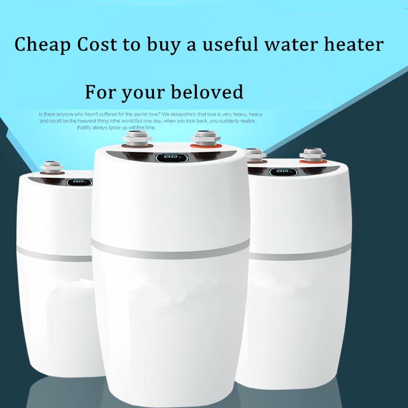 2200W Midea Instant Tank Electric Storage Hot Water-Heater Household Bathroom Kitchen UnderSink Wash Basin Shower Faucet Tap