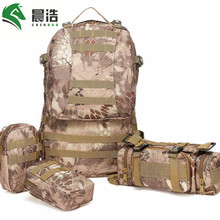CHENHAO Outdoor Tactical Backpack Multifunction Outdoor Army Bag Military Male Resistant Rucksack For Camp Combination Backpack