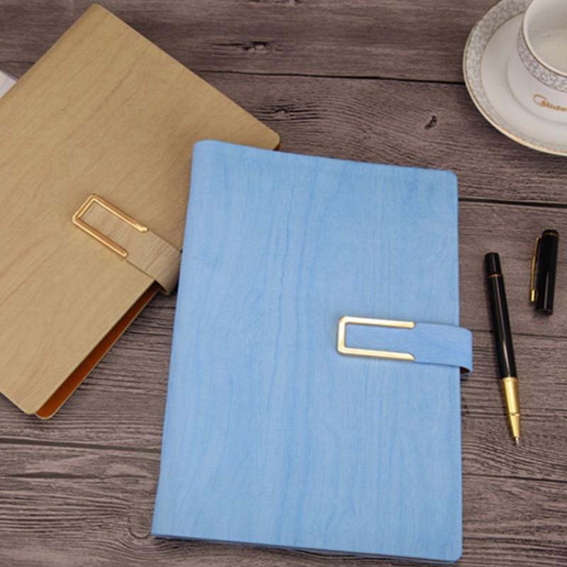 Faux kožené obchůdky s bižuterií Refillable spiral A5 Vintage - Bloky a záznamní knihy - Fotografie 2