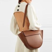 Semicircle Saddle Bags for Women Handbags Large Capacity Irregular PU Leather Ladies Shoulder Messenger Bag bolsa feminina Tote цены онлайн