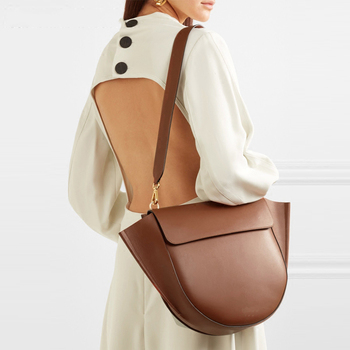 Semicircle Saddle Bags for Women Handbags Large Capacity Irregular PU Leather Ladies Shoulder Messenger Bag bolsa feminina Tote jinqiaoer women nylon bag female messenger bag ladies crossbody bags for women handbags large shoulder bag bolsa feminina wh345