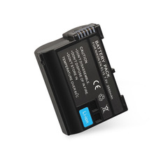 2018 New Arrival 7V 2550MAH Rechargeable Li-ion Battery Replacement Battery Pack for Nikon D7000 D800 D800E dropshipping
