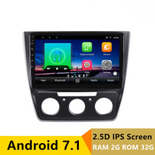 10″ 2+32G 2.5D IPS Android 7.1 Car DVD Multimedia Player GPS For MQB Skoda Yeti 2014 2015 2016 2017 car radio stereo navigation