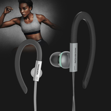 3.5mm Ear Hook Earphone 3D Stereo Super Bass Noise Noise Cancelling Headphones Headsets with Mic for Meizu Xiaomi Sony iPhone