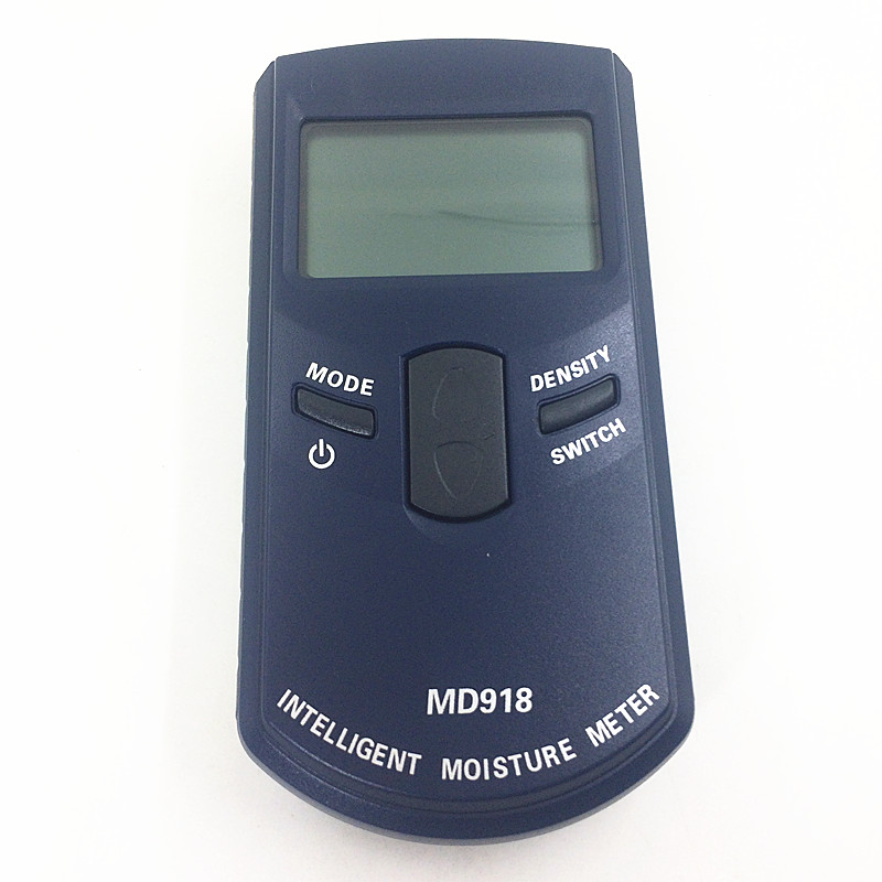 New Original High Quality Wood Moisture Meter MD918 Wood Humidity Meter Digital Damp Portable Handheld Detector Tester Analyzer md917 handheld concrete ground moisture meter with high quality