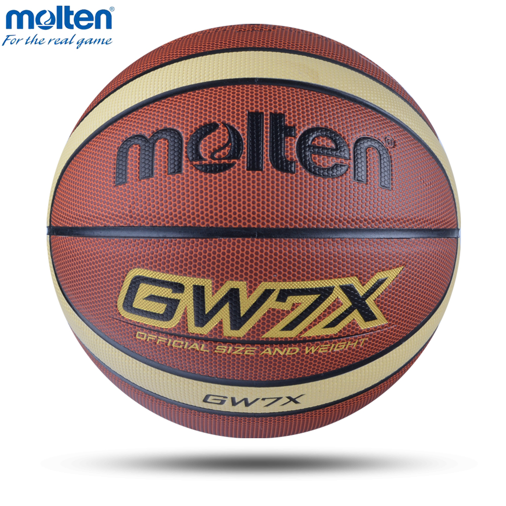 New Molten Professional Basketball Ball Size 7/6/5 With Free Gift Child Women Training Sports Inflatable Basketball Baloncesto
