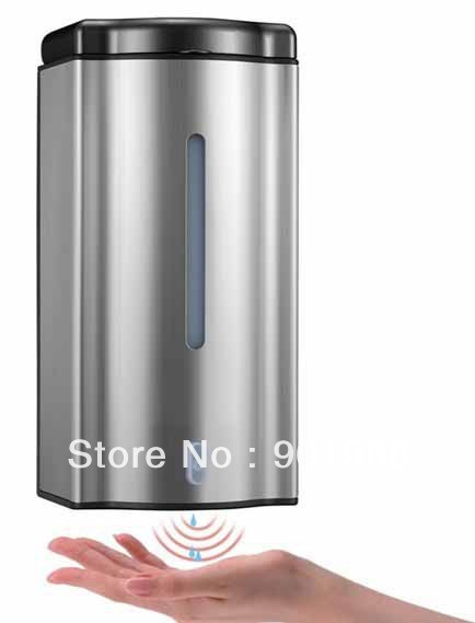Thuis Wc Bar 600 Ml Rvs Wandmontage Infrarood Sensor Automatische Touchless Zeepdispenser