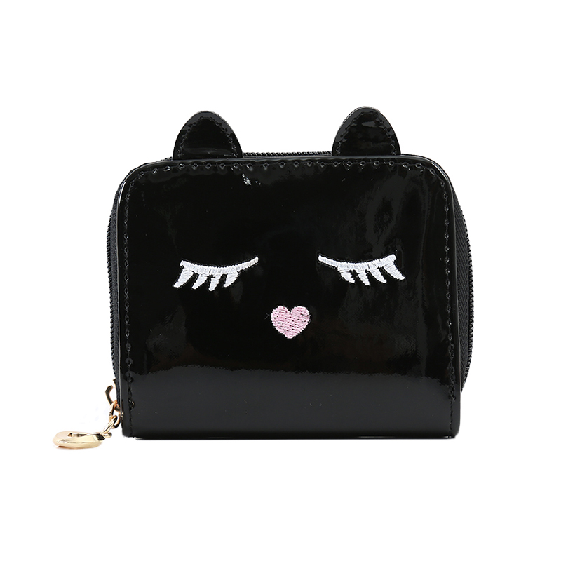 Women Lady Wallet Card Holder Laser PU Case Mini Clutch Handbag Coin Purse Bags