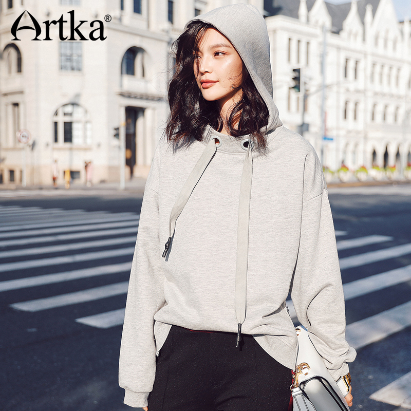 ARTKA New City Series Strap Hoodie with Hat JV17007
