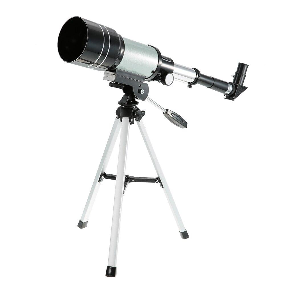 Nett Outdoor F30070m Monokulare 150x Refraktive Raum Astronomische Teleskop Jagd Spektiv Mit Stativ Einstellbare Hebel Jagd