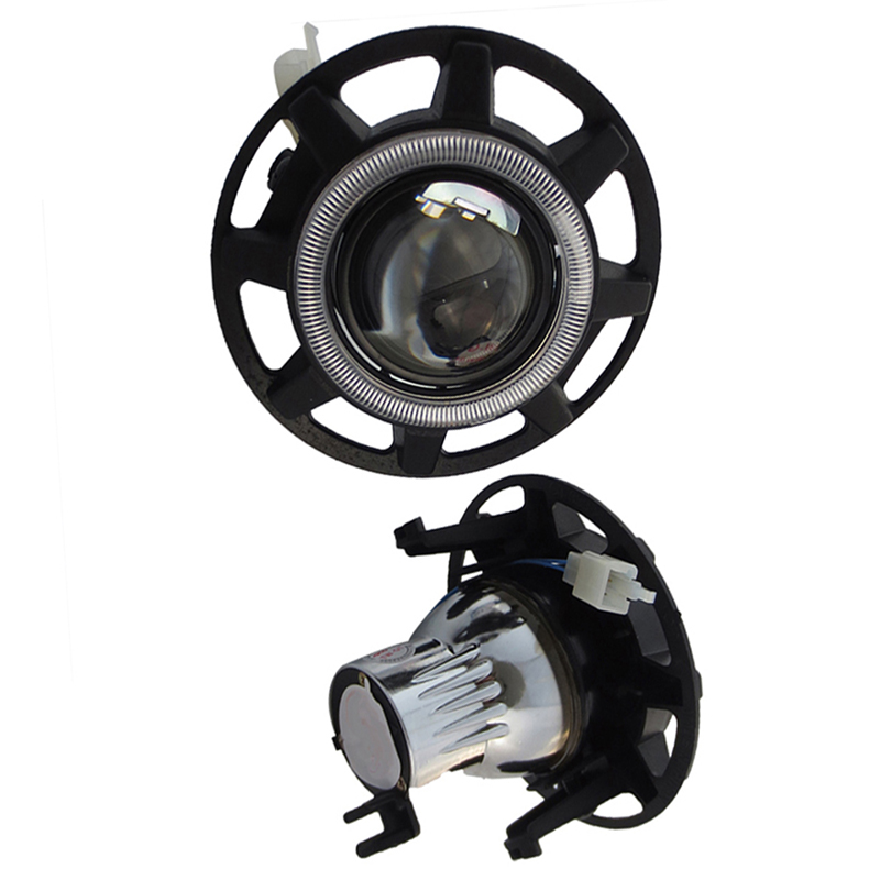 Car Front Bumper HID H11 H9 H16 Bi-Xenon Led Halogen High Low Beam fog Light Lens Assembly for <font><b>Dodge</b></font> <font><b>Charger</b></font> Headlight image