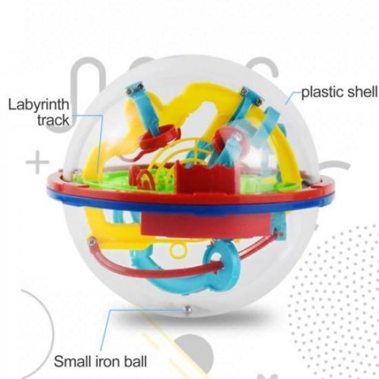 2019 New 3D Puzzle Magic Maze Ball 299 Level Perplexus Magical Intellect Marble Ball Balance Maze Perplexus Puzzle Toy