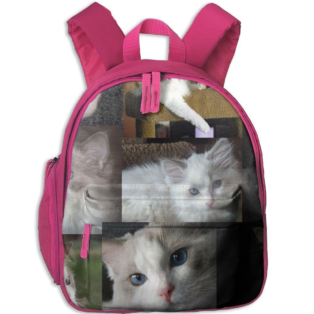 SAMCUSTOM Cute Ragdoll cats 3D printing Bags for girls backpack kids children school bags backpack School knapsack Baby bags