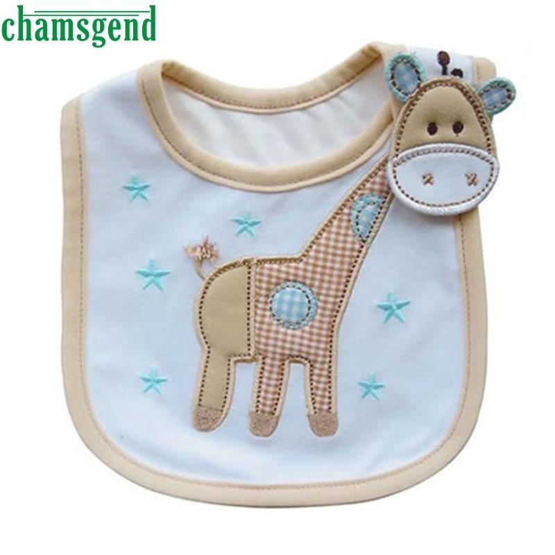 CHAMSGEND Baby Infants Kids Bibs Baby Lunch Bibs Cute Towel 3 Layer Waterproof drop shipping p30 MAY18