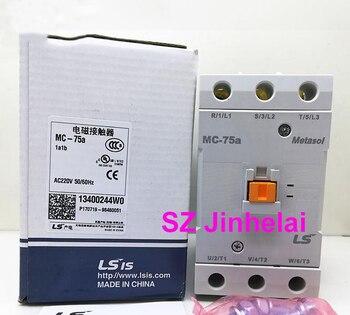 Authentic original MC-75a LS Electromagnetic contactor 1a1b (Can replace GMC-75) AC220V/AC110V/AC24V/AC380V