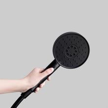 Youpin talisb conjunto de 3 modos, chuveiro portátil com 360 graus 120mm, 53 buracos para água, massagem poderosa de pvc chuveiro de alta qualidade