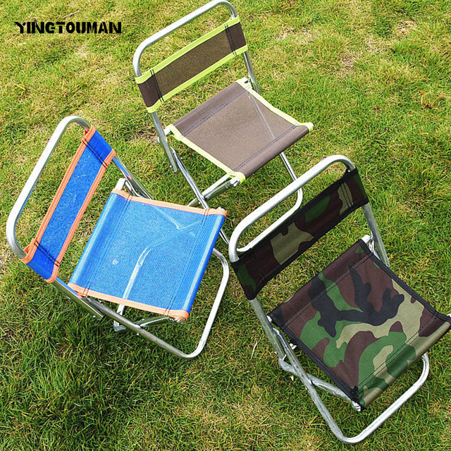 YINGTOUMAN Outdoor Folding Chairs Portable Multifunctional Foldable Chair  Outdoor Sketch Stool Chair For Fishing Chairs BBQ