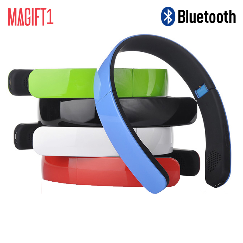 New Magift1 Wireless Bluetooth Stereo Headphones Earphone Headset with Microphone Handsfree for Ios Android Smartphone Table PC