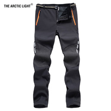 THE ARCTIC LIGHT Outdoor Camping Hiking Pants Men Winter Waterproof Windproof Fishing Skiing Nature Hike Trekking Trousers