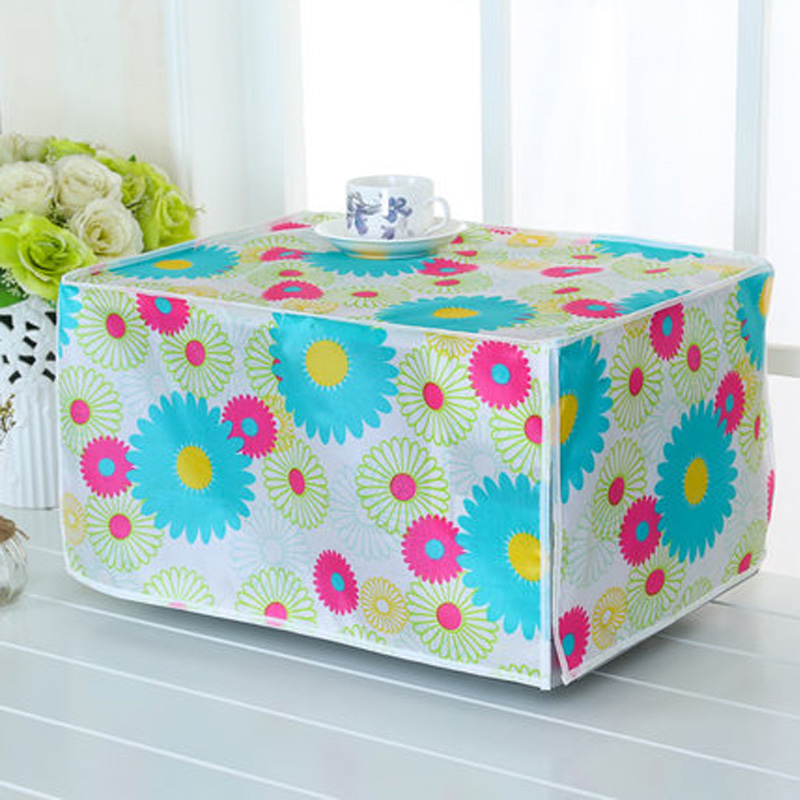 SRYSJS  Protective Covers For Microwave Oven Waterproof Dustproof Oven Cover Kitchen Home Decor Cover Cloth 2