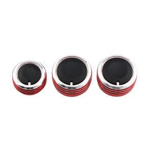 Image 5 - Farbe Mein Leben 3 Teile/satz Auto Klimaanlage Wärme Steuerung Schalter AC Knob für Volkswagen VW Caddy 2005   2010 teile Zubehör