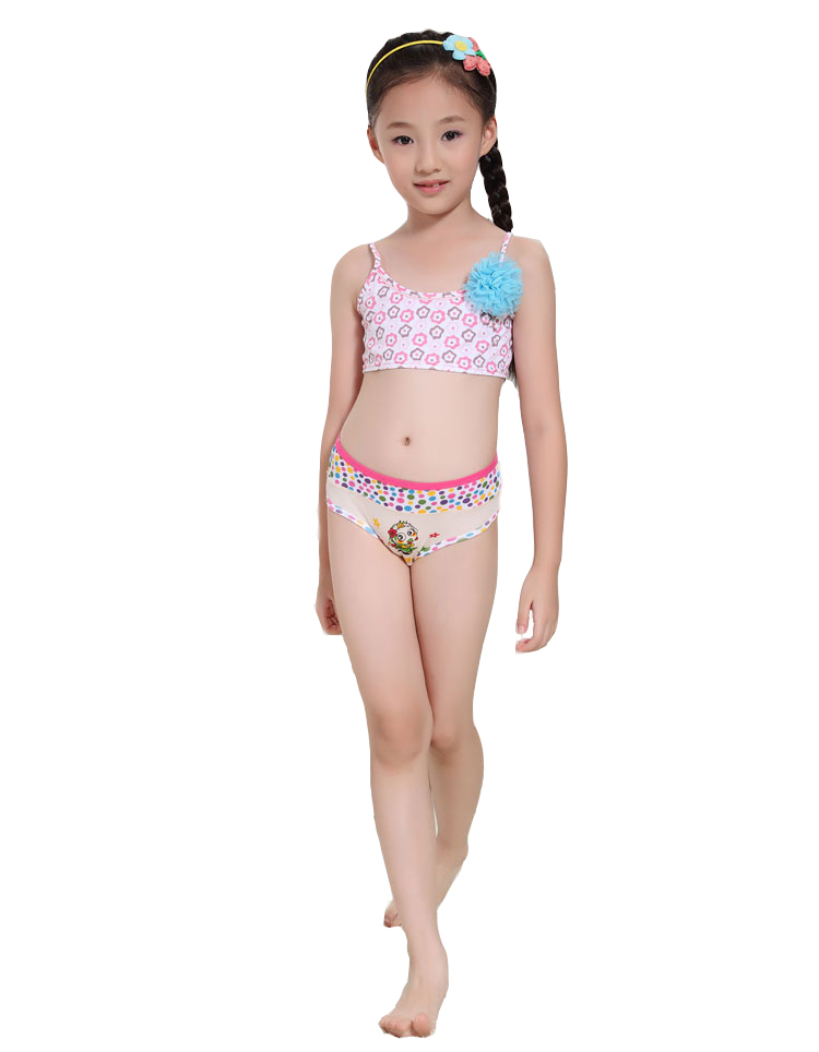 Camisoles Bra Underwear Girls Kids Undies Underclothes Soft Sport Vest Chic New. Quickly check for the baby underwear. 1x Underwear (The other accessories are not be included). This bra only has one c 6 Girl's Children Kids Underwear Seamless Boyshort or Bikini Mixed Colors S M L.