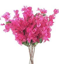 12pcs Bougainvillea Glabra Artificial Floor Mounted 80cm Fake Flower for Wedding Centerpieces Decorative Flowers